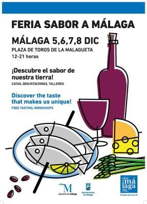 Cartel Feria Sabor a Málaga